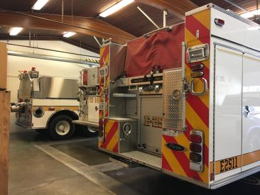 Scotts Valley Fire District Station 1 Apparatus Bay